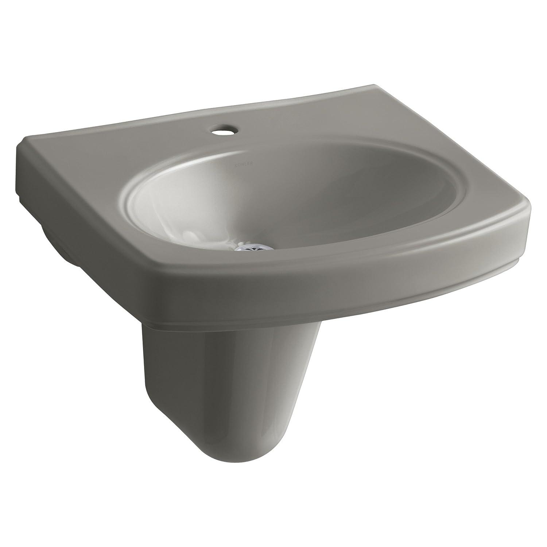 KOHLER K 2035 1 0 Pinoir Wall Mount Bathroom Sink with Single Hole