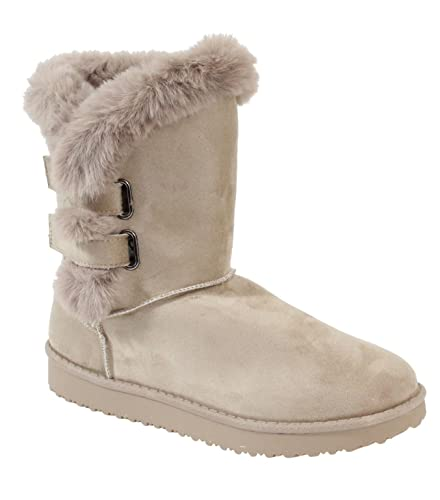 b6dbafa4683b5f By Shoes - Bottine Plate Style Fourrée - Femme: Amazon.fr ...