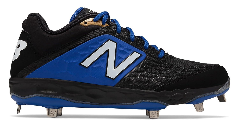 New Balance Men's 3000v4 Baseball Shoe B075R72TJN 5 2E US|Black/Blue