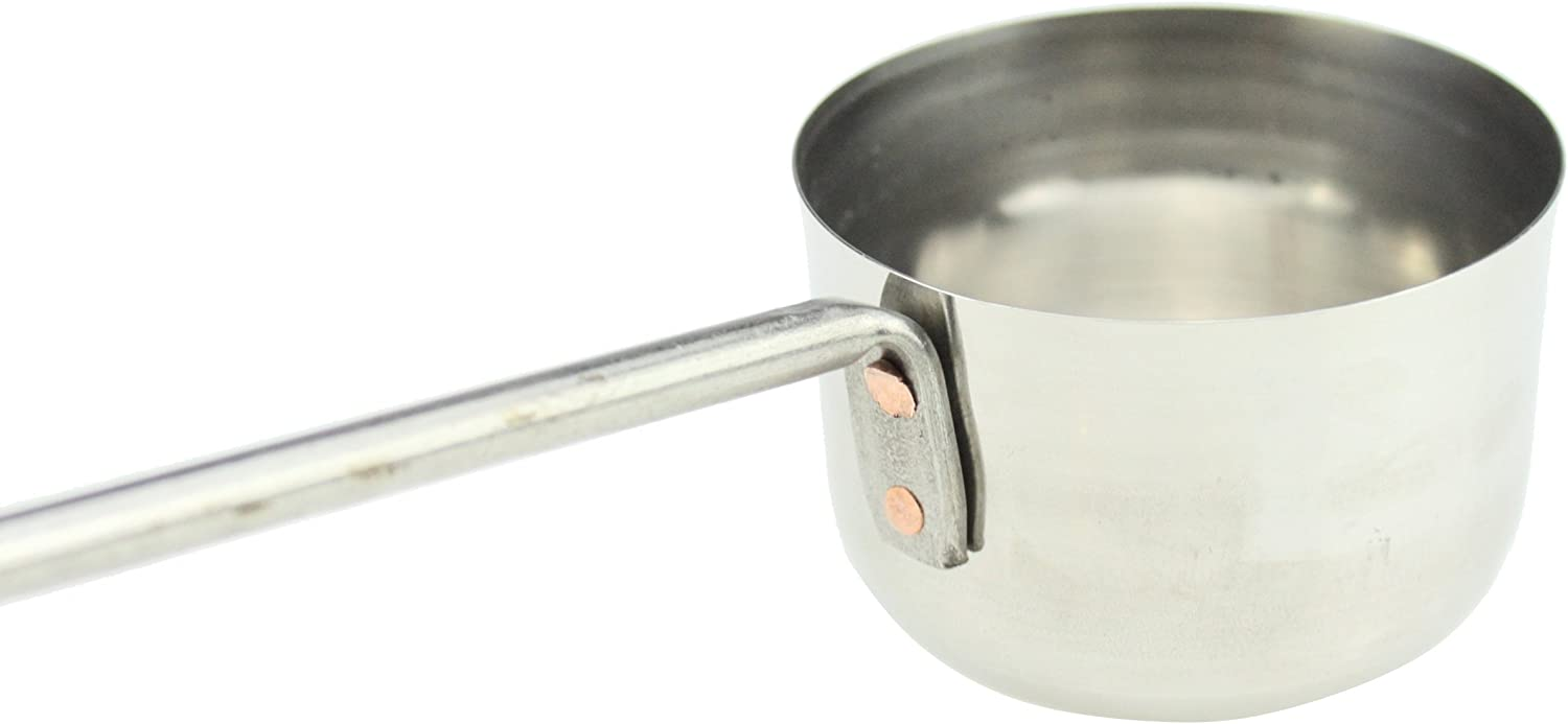 Stainless Steel Ladle Long Handle Serving Stainless Steel Ladle Soup Gravy Sauces Oil Tea Punch Ladle by Global Kitchen Size 3