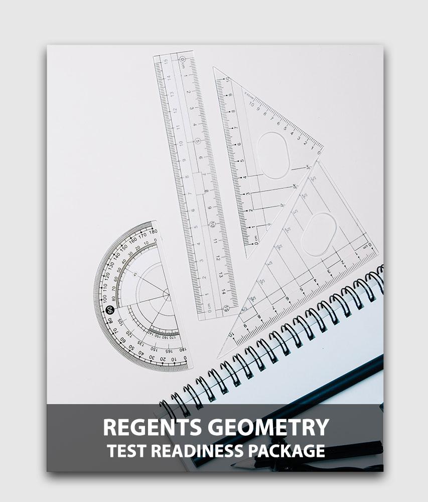 Regents Geometry (5-Pack) - Test readiness package (Online test) [Online Code]