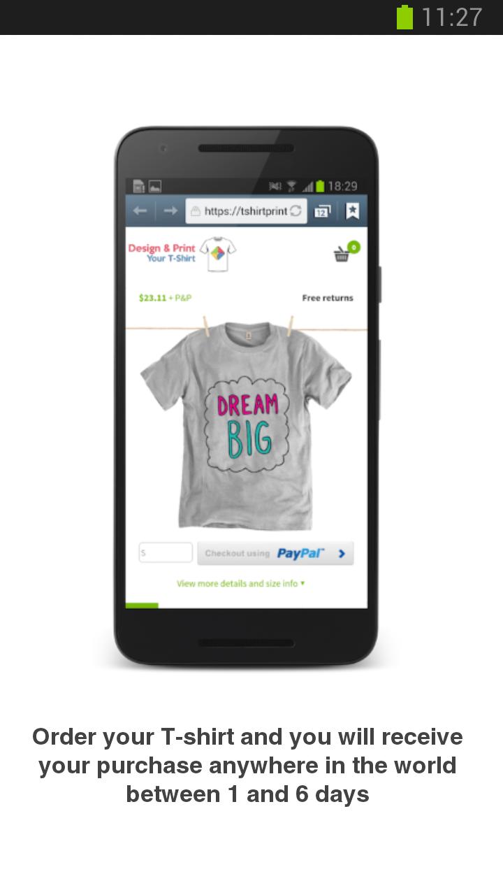 aed21fc7c Diseña e imprime tu camiseta  Amazon.es  Appstore para Android
