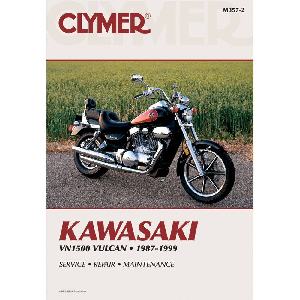 1987-1999 CLYMER KAWASAKI VULCAN 1500 SERVICE MANUAL NEW M357-2:  Manufacturer: Amazon.com: Books