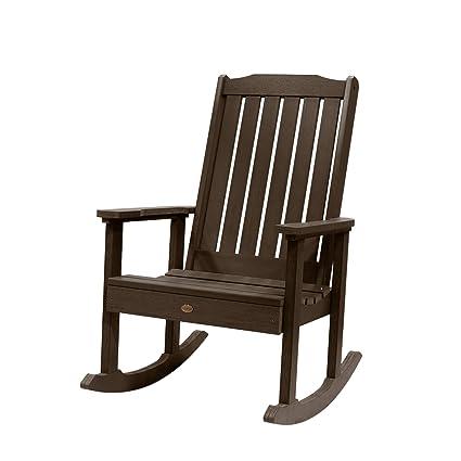 Amazon.com: Highwood Lynnport silla mecedora, rojo ...