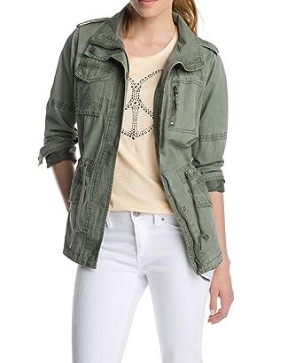 Esprit damen parka jacke field jacket