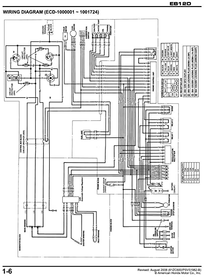 Honda Eb12d Generator Wiring Diagram Honda Auto Wiring Diagram – Honda Wiring Diagrams