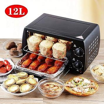 Mini horno eléctrico para hornear 12L Horno para pizza casero ...