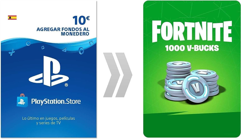 PSN Credito para Fortnite 1000 V-Bucks   Código de descarga PS4 - Cuenta española