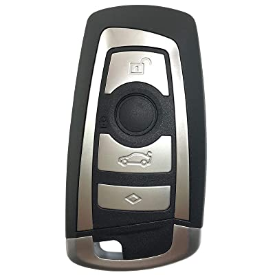 Horande Replacement Key Fob Case fit for BMW 1 3 4 5 6 7 F Series X3 X4 X5 X6 M5 Keyless Entry Remote Control Key Fob Shell Cover: Automotive