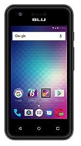 BLU Dash L3 D930 Unlocked GSM Dual-Core Dual-SIM Smartphone w/Android Marshmallow - Black