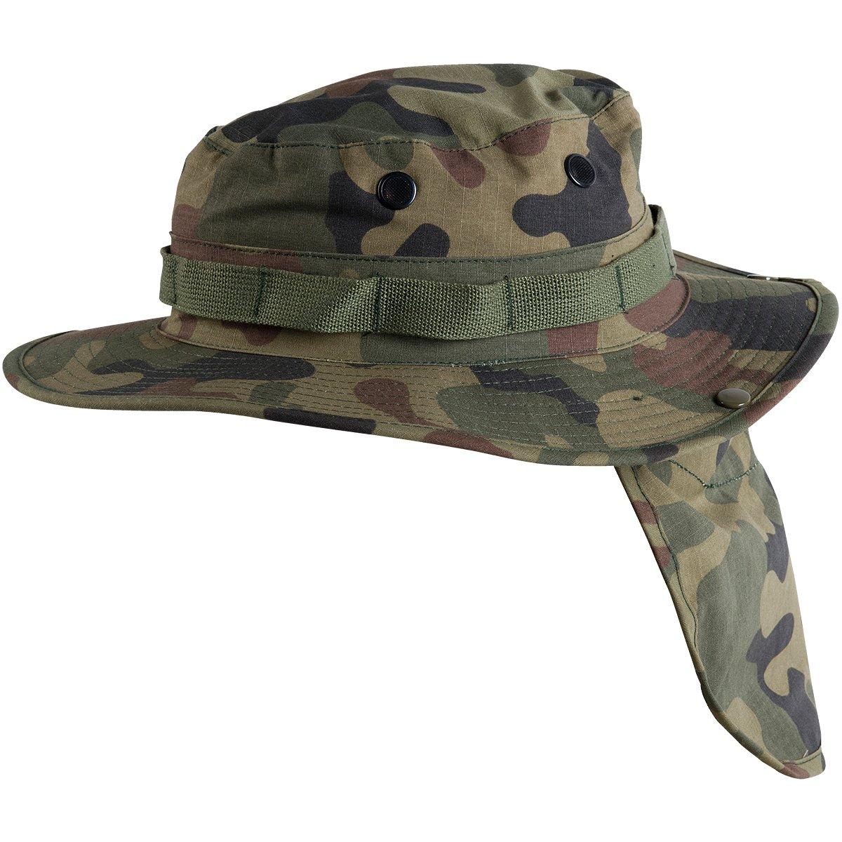 05a4e5d0c30 Amazon.com  Helikon-Tex GI Boonie Hat Polish Woodland  Clothing