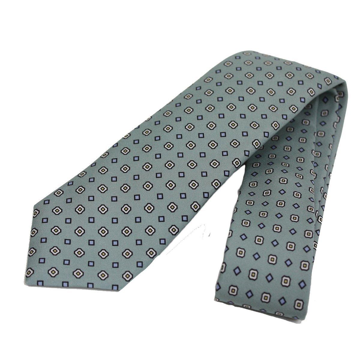 7ebd3dde9afb Amazon.com: Gucci Patterned Sea Foam Green Woven Silk Tie 368200: Clothing