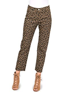 603f5c3a37d7 Amazon.com: Orangeskycn Women Skinny Pants Stretch Leopard Print ...