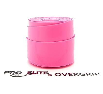 Overgrip Pro Elite Confort Perforado Rosa Flúor
