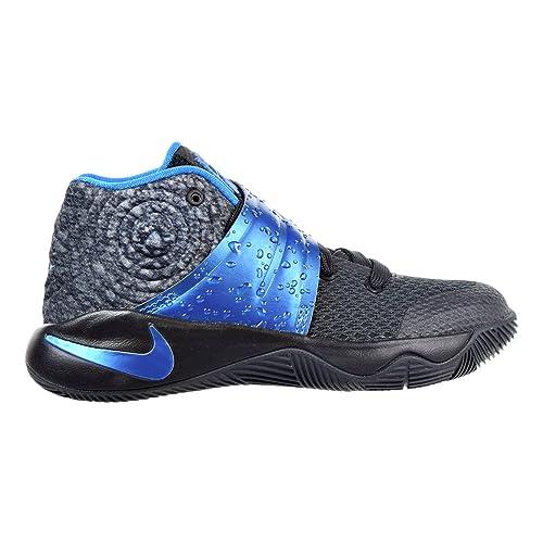 online retailer d12f1 cab93 Nike Kyrie 2 Little Kid's (PS) Shoes Black/Blue 827280-005 ...