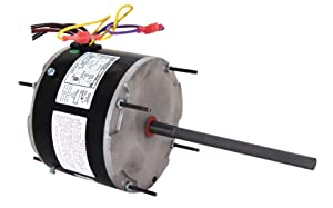 A.O. Smith ORM5458B 1/3-1/6 HP, 1075 RPM, 1075 volts, 2 Amps, 48Y Frame, Ball Bearing Condenser Motor