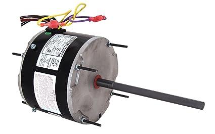 a o smith orm5458 1 3 1 6 hp 1075 rpm 208 230 volts 2 amps 48y rh amazon com Weg Motor Capacitor Wiring