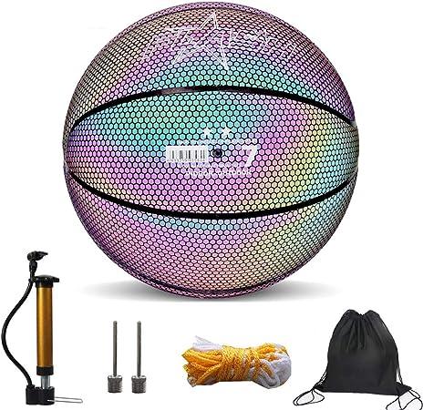 Balón De Baloncesto Ilumina Incl. Bomba De Balón – Brilla En La ...