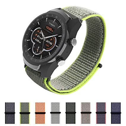 Correa Asus ZenWatch 1 WI500Q SIKAI 22mm Smartwatch Band Reemplazo de Reloj Pulseras de Repuesto Deportivas
