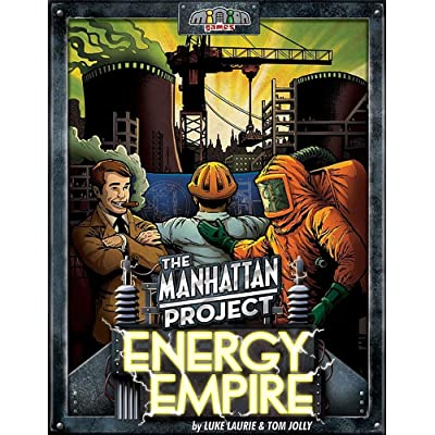 The Manhattan Project Energy Empire Game: Toys & Games