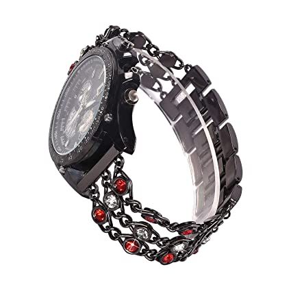 Band Compatible Samsung Galaxy Watch 46mm,Women Metal Bling White Diamond  Strap for Samsung S3 Frontier/Classic,V-Moro 22mm Lady Glitter Bracelet for