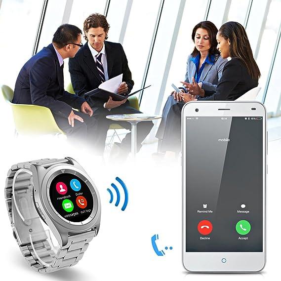NO.1 G6 - Smartwatch con Bluetooth 4.0, PSG, con monitor de ...