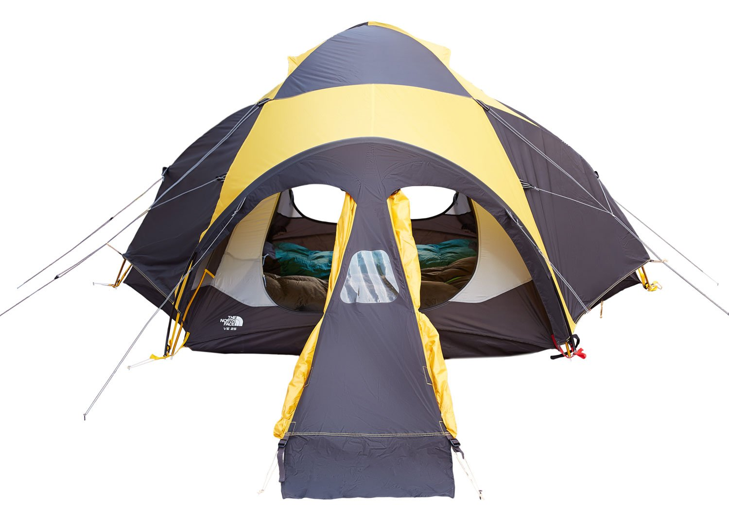 Amazon.com The North Face VE 25 Tent Summit Gold/Asphalt Grey One Size Sports u0026 Outdoors  sc 1 st  Amazon.com & Amazon.com: The North Face VE 25 Tent Summit Gold/Asphalt Grey One ...
