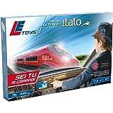 LE Toys LET13900 - Treno Italo Elettrico con Simple Controller, Bordeaux