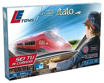 Toys Le Eléctrico Let13900 Italo Con Controlador Tren Simple nNPkZ08wOX