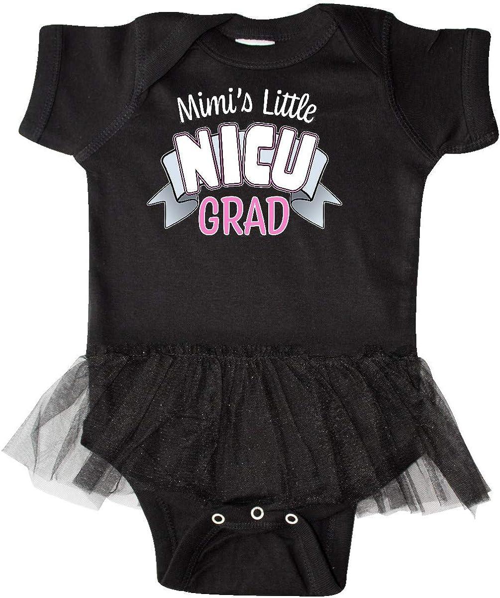 inktastic Mimis Little Nicu Grad in Pink with Banner Infant Tutu Bodysuit