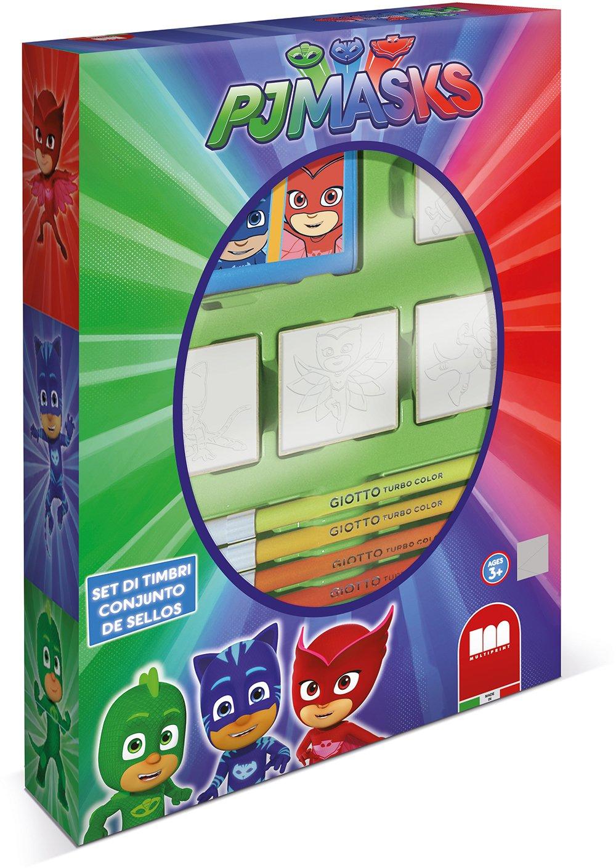 PJ Masks Juego de Sellos multiimpresos 1638 (4 Piezas): Amazon.es: Juguetes y juegos