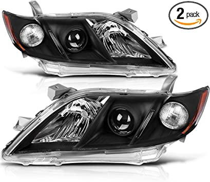 NEW LEFT HEAD LIGHT LENS AND HOUSING FOR 2007-2009 TOYOTA CAMRY TO2518105