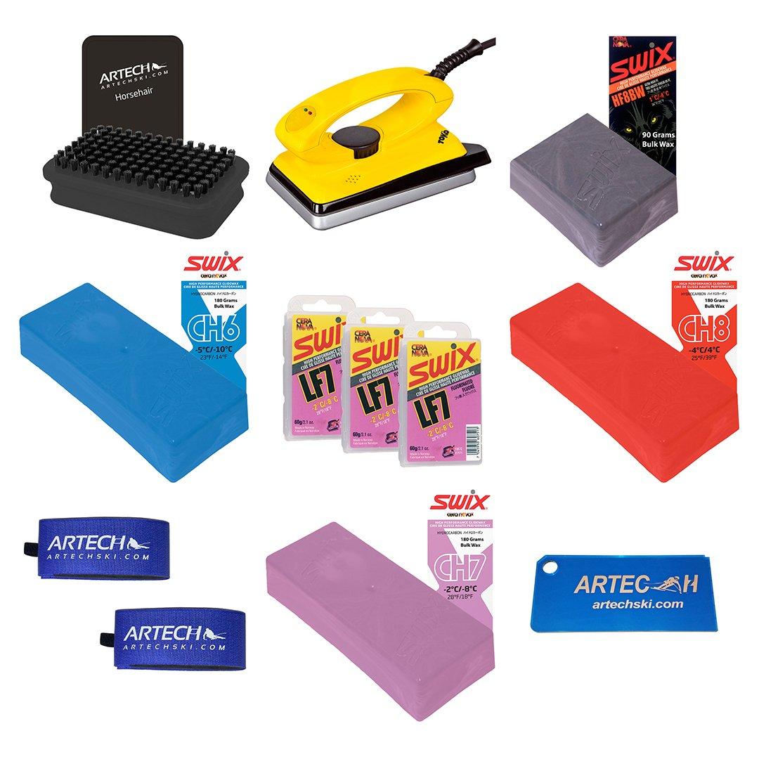 ARTECHSKI High Fluoro Series Wax Brush Iron Starter Kit by ARTECHSKI