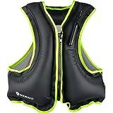 DOOHALO Inflatable Snorkel Life Jacket Vest for Adult Men Women Fit 88-220Ibs Swimming Float Vest for Kayak Diving…