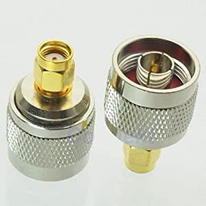 N-Type male to RP-SMA male Connector Adapter