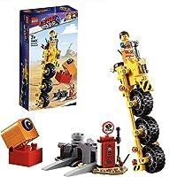 LEGO La LEGO Película 2 - Triciclo de Emmet, set creativo de construcción con vehículo de juguete, incluye figura de Planty (70823)