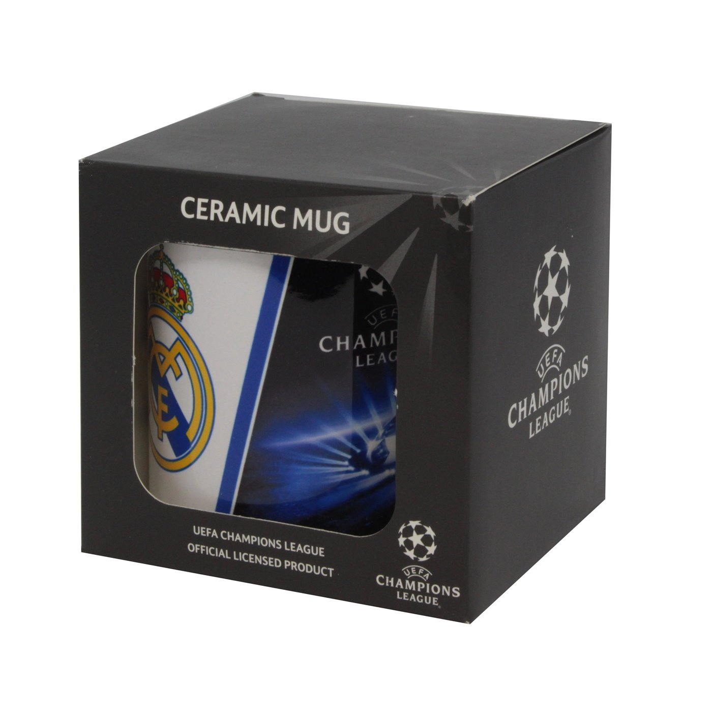 Real Madrid - UEFA Champions League Mug - Tazza Stadion - Emblem ...