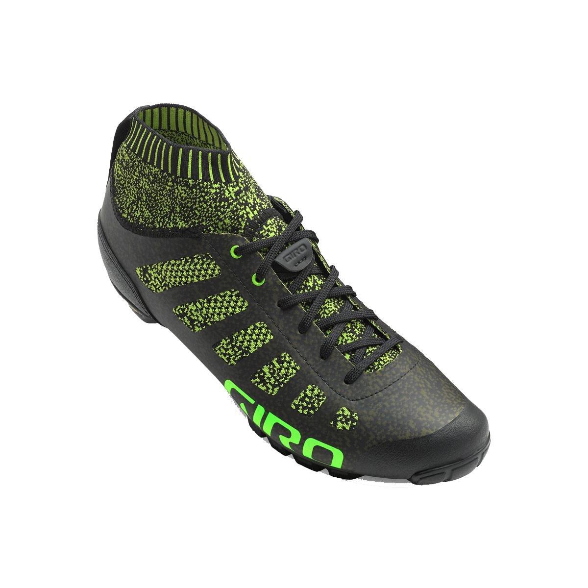 Giro Empire VR70 Knit Cycling Shoes - Men's B075RTTMFJ 42.5|Lime/Black