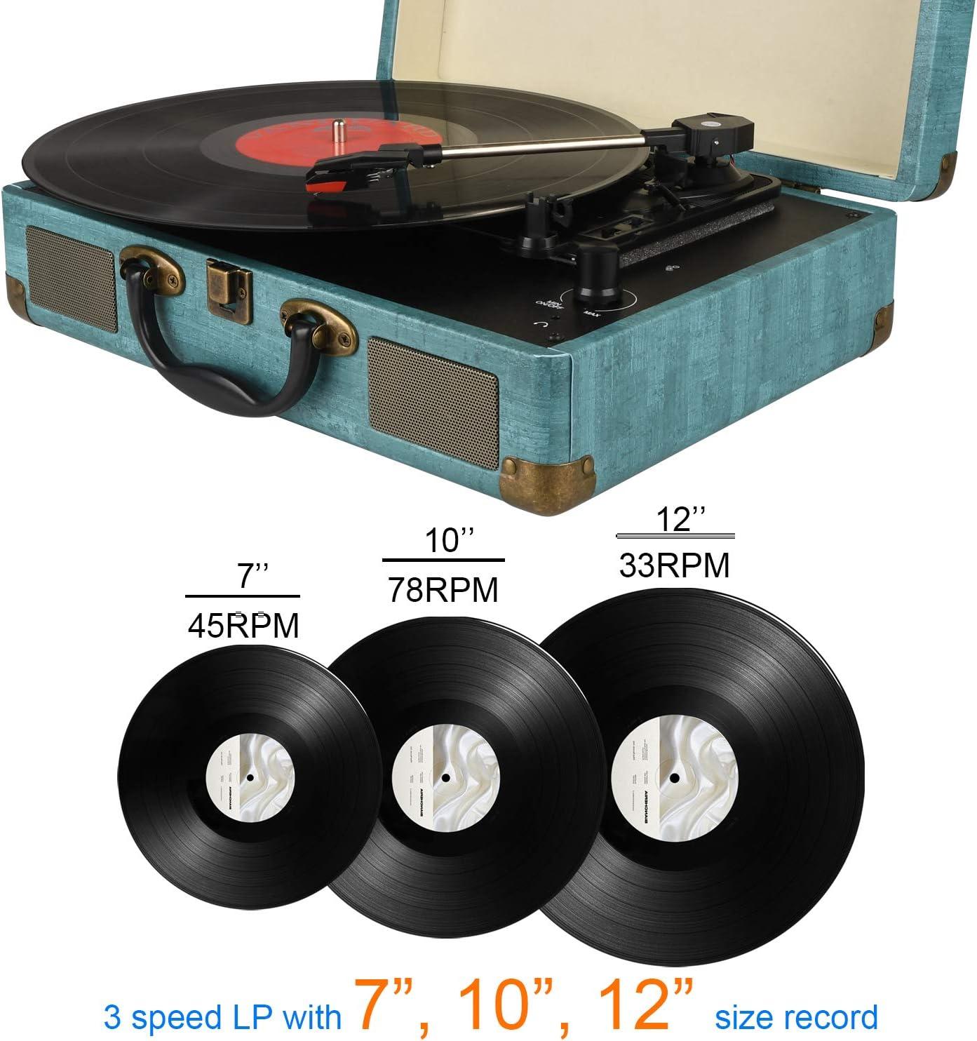 Amazon.com: Reproducción de grabación, vintage, tocadiscos ...