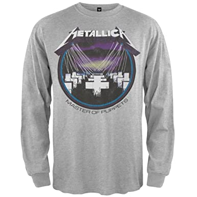 4c32e046 Old Glory Metallica - Mens Retro Master Long Sleeve | Amazon.com