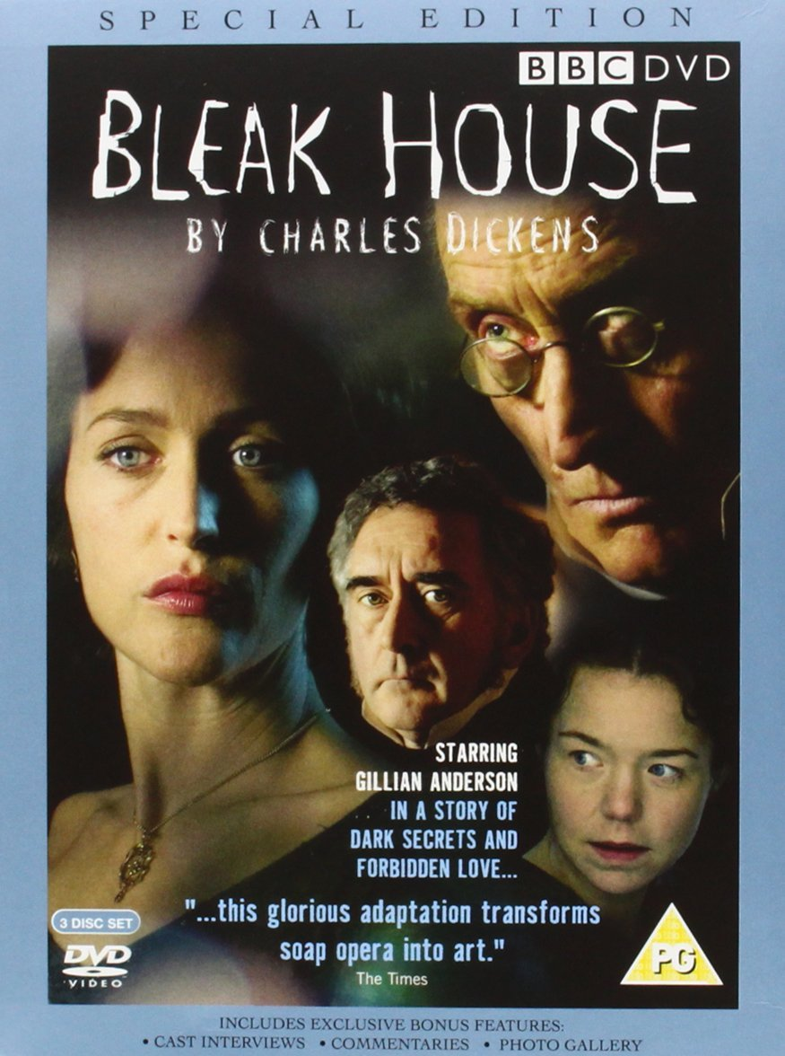 bleak house part one bbc dvd amazon co uk diana rigg bleak house bbc 3 disc special edition dvd 2005