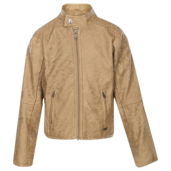 423ea7ff3 Allen Solly Junior Boys Mandarin Blend Neck Solid Jacket (Tan