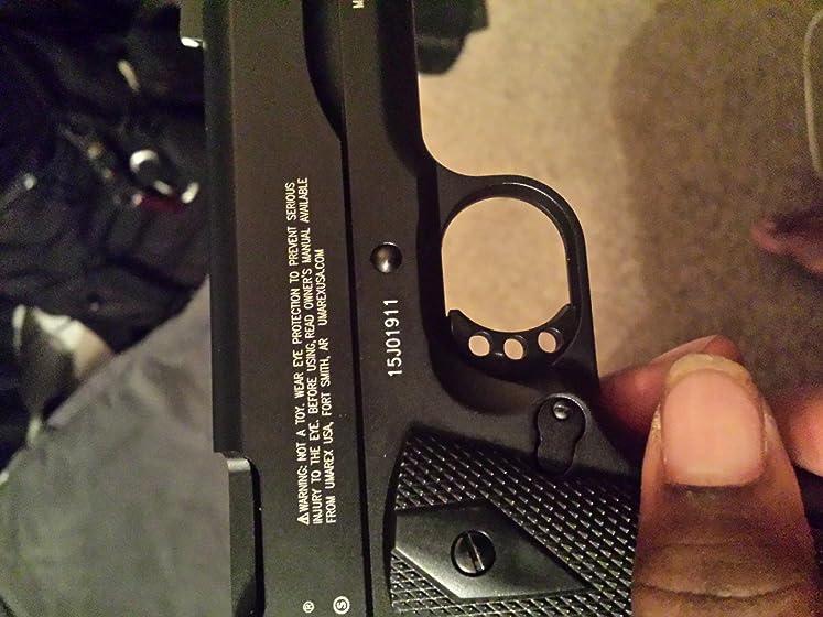 Colt Commander .177 Caliber  Steel BB Air Gun Pistol A faithful reproduction of the legendary classic!