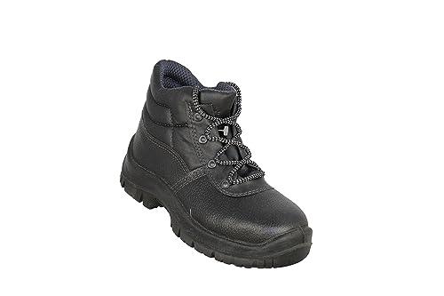 Almar - Calzado de protección de Piel para hombre, color Negro, talla 40