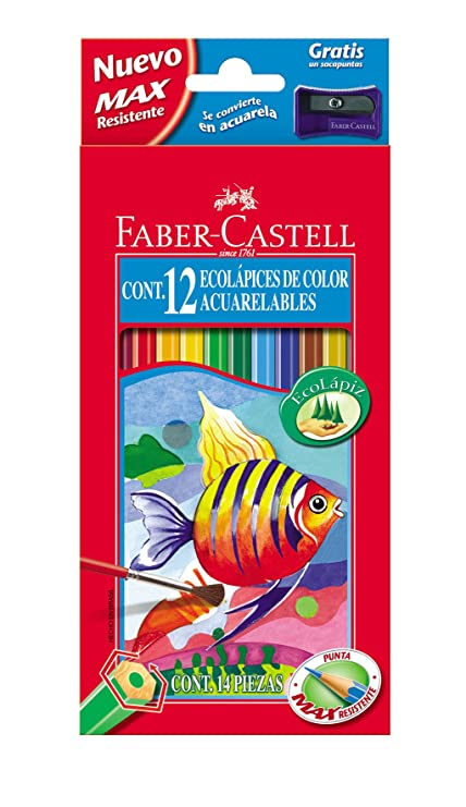 Amazon.com : Faber Castell acuarela- Pencil : Office Products