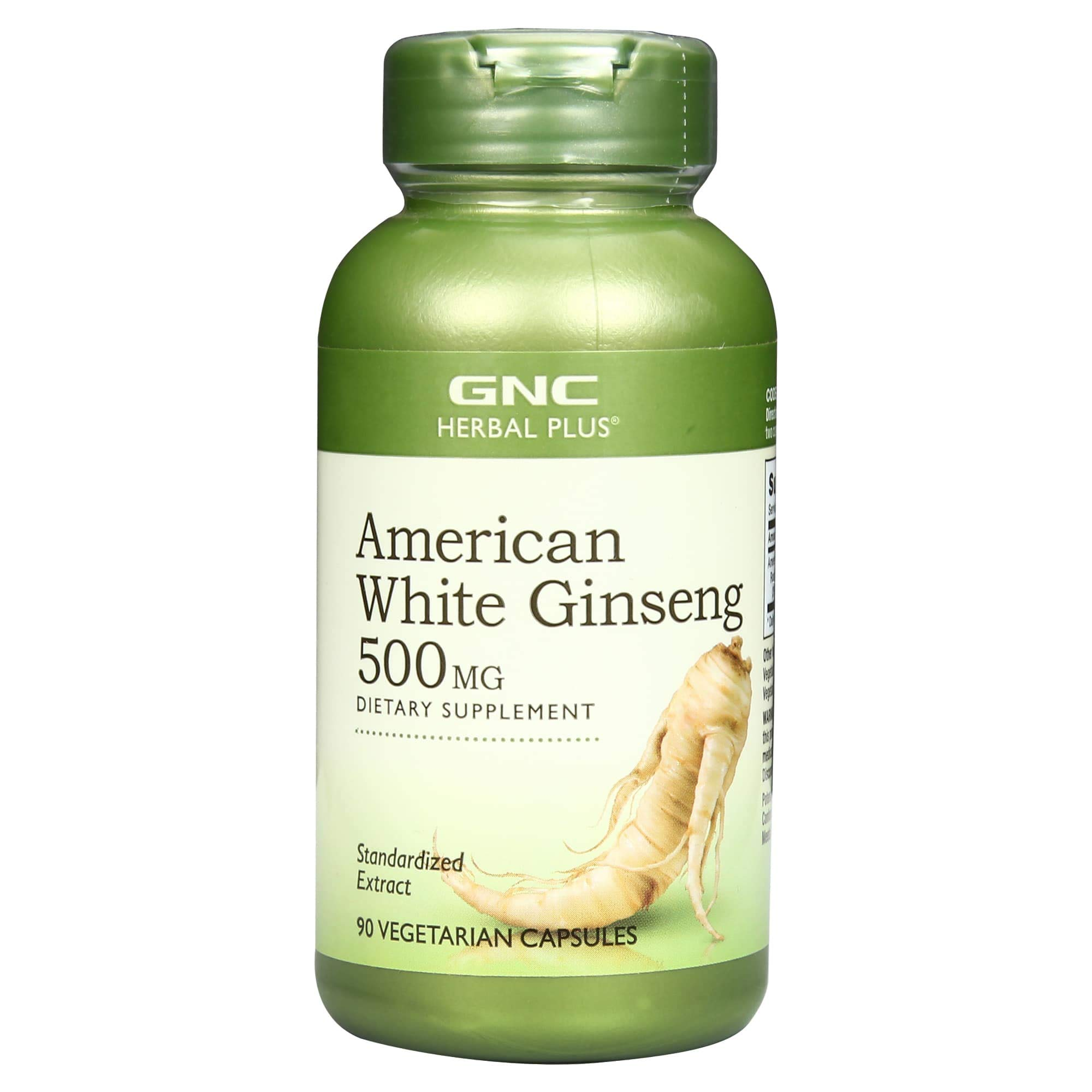 Gnc American Ginseng 500 Mg 90 Capsules Buy Online In Cambodia