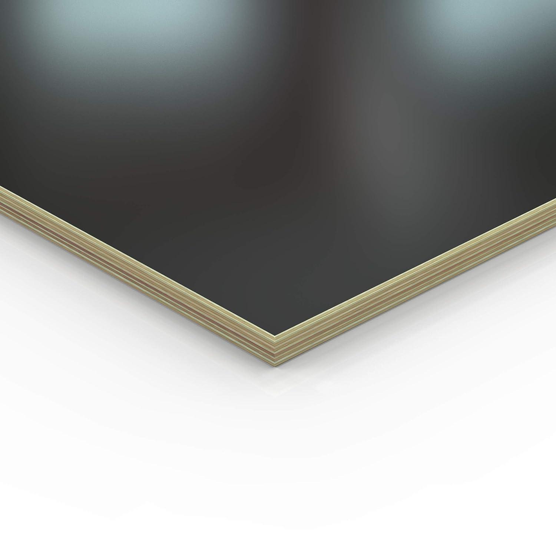18mm Multiplex Zuschnitt schwarz melaminbeschichtet L/änge bis 200cm Multiplexplatten Zuschnitte Auswahl 60x30 cm