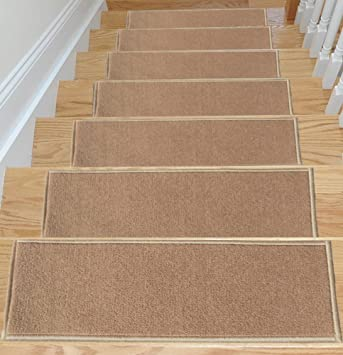 ottomanson rubber backing nonslip carpet stair washable area - Washable Rugs