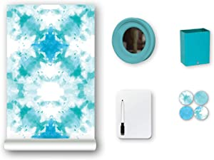 WallPops WPL2727 Twisted Locker Kit Wall Decal, Blue