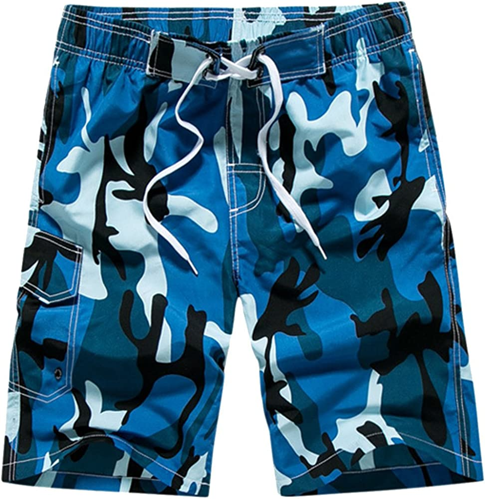 Youthny Short Homme Plage Casual Respirant Large Imprim/é